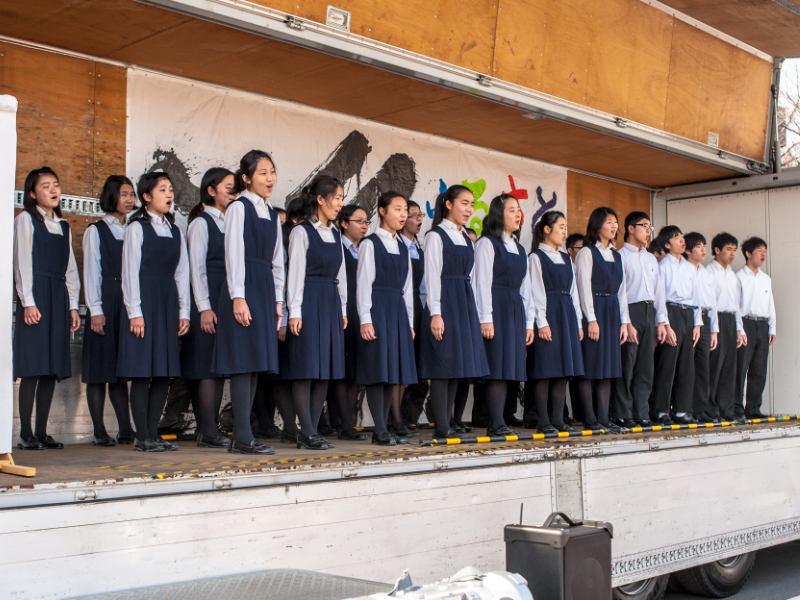 横浜国立大学教育人間科学部附属鎌倉中学校合唱団
