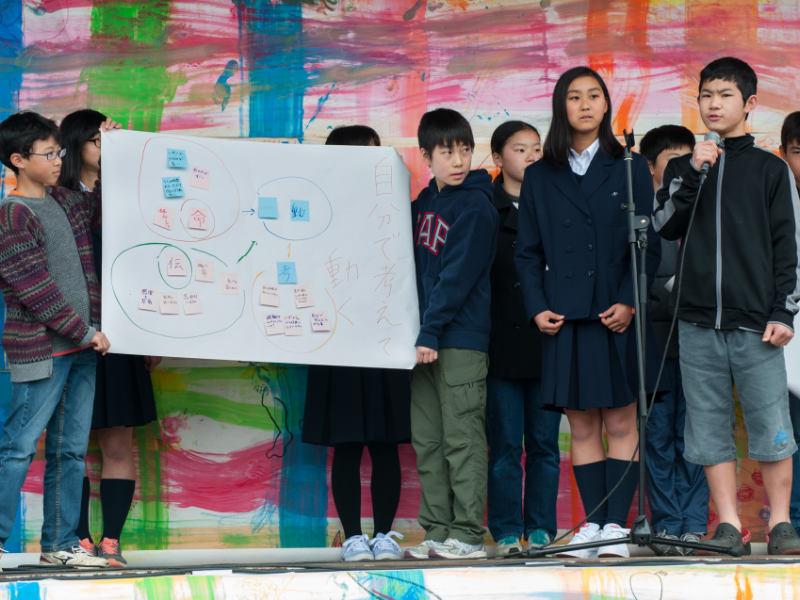 第2回鎌倉市中学生防災サミットの様子